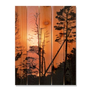 Ocean Forest 28x36 Indoor/ Outdoor Full Color Cedar Wall Art