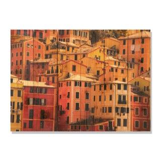 Italian Villa 33x24 Indoor/ Outdoor Full Color Cedar Wall Art
