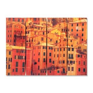 Italian Villa 22.5x16 Indoor/ Outdoor Full Color Cedar Wall Art