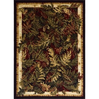 "Home Dynamix Optimum Collection Tan (5'2"" X 7'2"") Machine Made Polypropylene Area Rug"