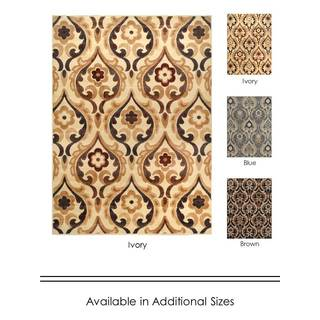 "Home Dynamix Catalina Collection Contemporary Area Rug  (5'3""X7'2"")"