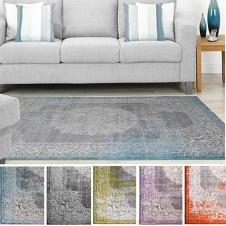 Home Dynamix Sunderland Collection Traditional Area Rug (5'2 x 7'2)