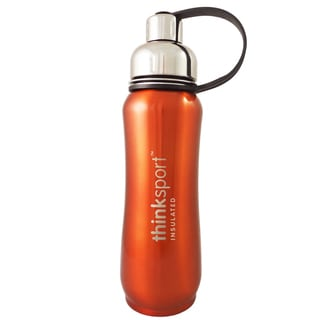ThinkSport Orange 17-ounce Insulated Sports Bottle