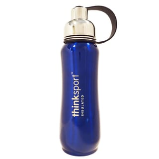 ThinkSport Metallic Blue 17-ounce Insulated Sports Bottle