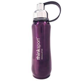 ThinkSport 17-ounce Purple Insulated Bottle