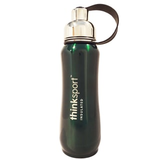 ThinkSport 17-ounce Metallic Green Sport Insulated Bottle