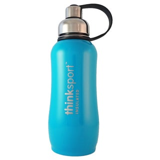 ThinkSport 25-ounce Insulated Light Blue Bottle