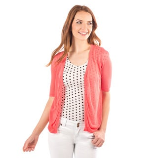 DownEast Basics Women's Summer Air Cardigan