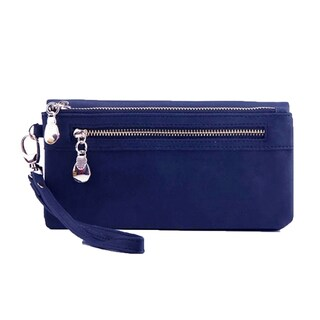 Womens Wristlet Cell Phone Wallet (Option: Blue)