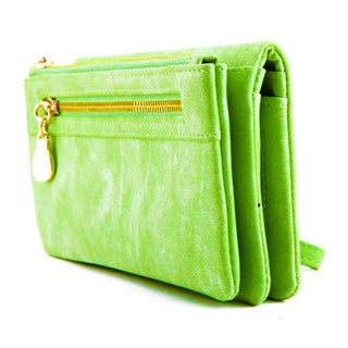 Womens Wristlet Cell Phone Wallet (Option: Green)