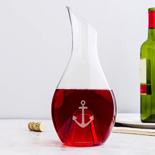 Aerating Anchor 30oz Wine Decanter