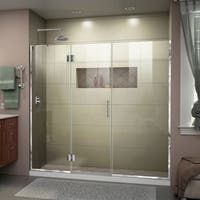 DreamLine Unidoor-X 65 1/2 - 66 in. W x 72 in. H Hinged Shower Door