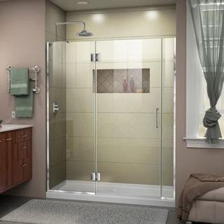 DreamLine Unidoor-X 58 - 58.5 in. W x 72 in. H Hinged Shower Door