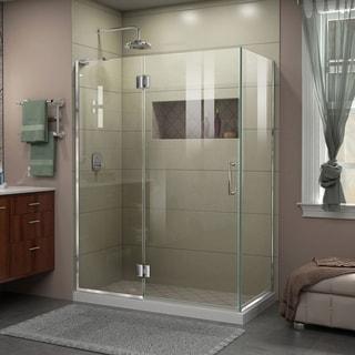 DreamLine Unidoor-X 47-3/8 in. W x 30 in. D x 72 in. H Hinged Shower Enclosure