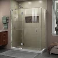 DreamLine Unidoor-X 59.5 in. W x 34.375 in. D x 72 in. H Hinged Shower Enclosure