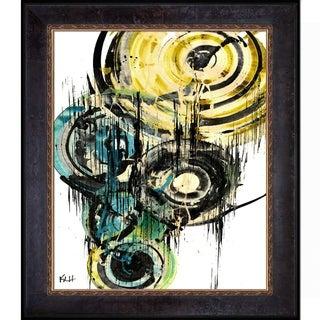Kris Haas 'Sphere Series 77042011' Framed Fine Art Print
