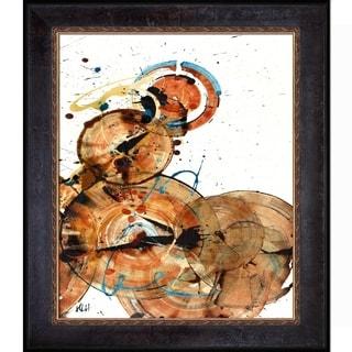 Kris Haas 'Sphere Series Painting 160010610' Framed Fine Art Print