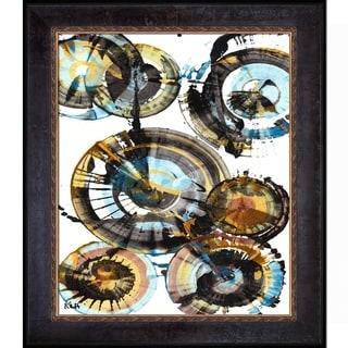 Kris Haas Sphere 'Series Painting 996042312' Framed Fine Art Print