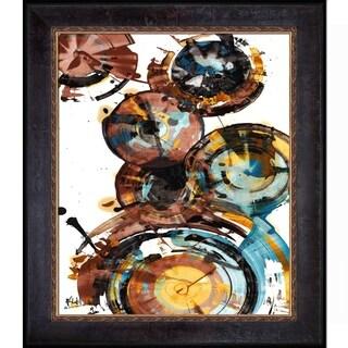 Kris Haas 'Sphere Series Painting 993042312' Framed Fine Art Print