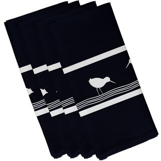 Birdwalk Animal Print 19-inch Square Napkin (Set of 4)