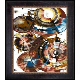 Kris Haas 'Sphere Series Painting 992042212' Framed Fine Art Print