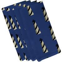 Beacon Geometric Print 22-inch Square Napkin (Set of 4)