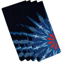 Sailor's Delight Geometric Print 19-inch Square Napkin (Set of 4)