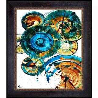 Kris Haas 'Sphere Series 1289121912' Framed Fine Art Print
