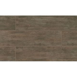 River Wood Walnut Look Porcelain Tile (8-inch x 36-inch)