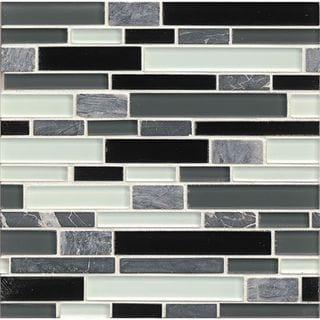 Tiffany Audrey Linear Glass Tiles (12-inch x 12-inch)