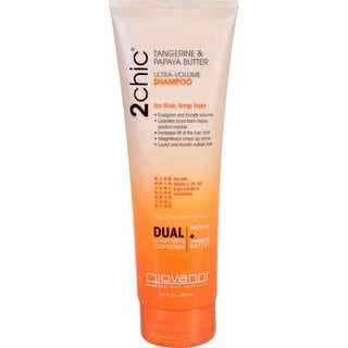 Giovanni 2Chic Ultra-Volume Tangerine and Papaya Butter 8.5-ounce Shampoo
