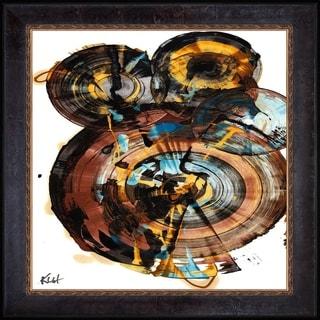 Kris Haas 'Sphere Series Painting 994042312' Framed Fine Art Print