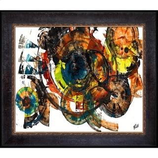 Kris Haas 'Sphere Series 60100111' Framed Fine Art Print