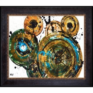 Kris Haas 'Sphere Series 1292121912' Framed Fine Art Print
