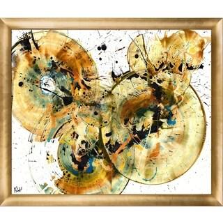 Kris Haas 'Sphere Series 168169010911' Framed Fine Art Print