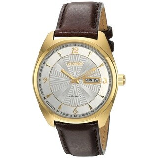 Seiko Recraft Men's SNKN70 Stainless Steel 21 Jewel Movement Automatic 50M Water Resistance Watch