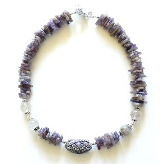 Palmtree Gems 'Sephora' Natural Amethyst Chip Necklace