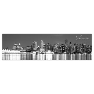 Vancouver City Digital Art Printed on Premium Gloss Poster