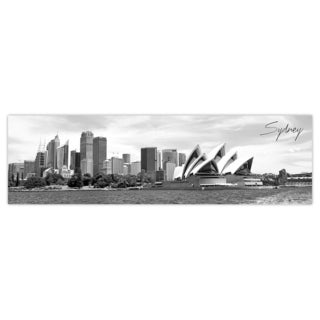 Sydney City Digital Art Printed on Premium Gloss Poster