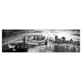 New York 1 City Digital Art Printed on Premium Gloss Poster