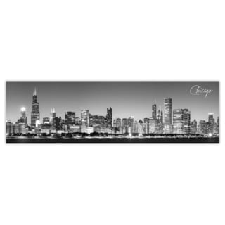 Chicago 1 City Digital Art Printed on Premium Gloss Poster