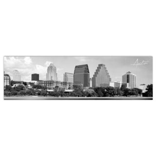 Austin City Digital Art Printed on Premium Gloss Poster