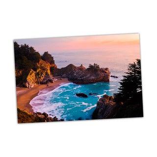 Big Sur Digital Art Printed on Premium Gloss Poster