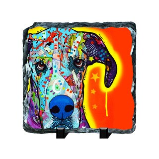 Great Dane Colorful Animals Art Printed on Slate Wall Decor
