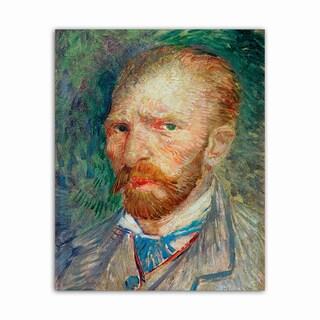 Self Portrait Van Gogh Masterpiece Printed on Metal Wall Decor