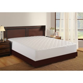Mattress Protector White 400 Thread Count Antimicrobial by Haven
