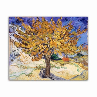 Mulberry Tree Van Gogh Masterpiece Printed on Metal Wall Decor
