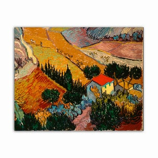 Landscape Van Gogh Masterpiece Printed on Metal Wall Decor