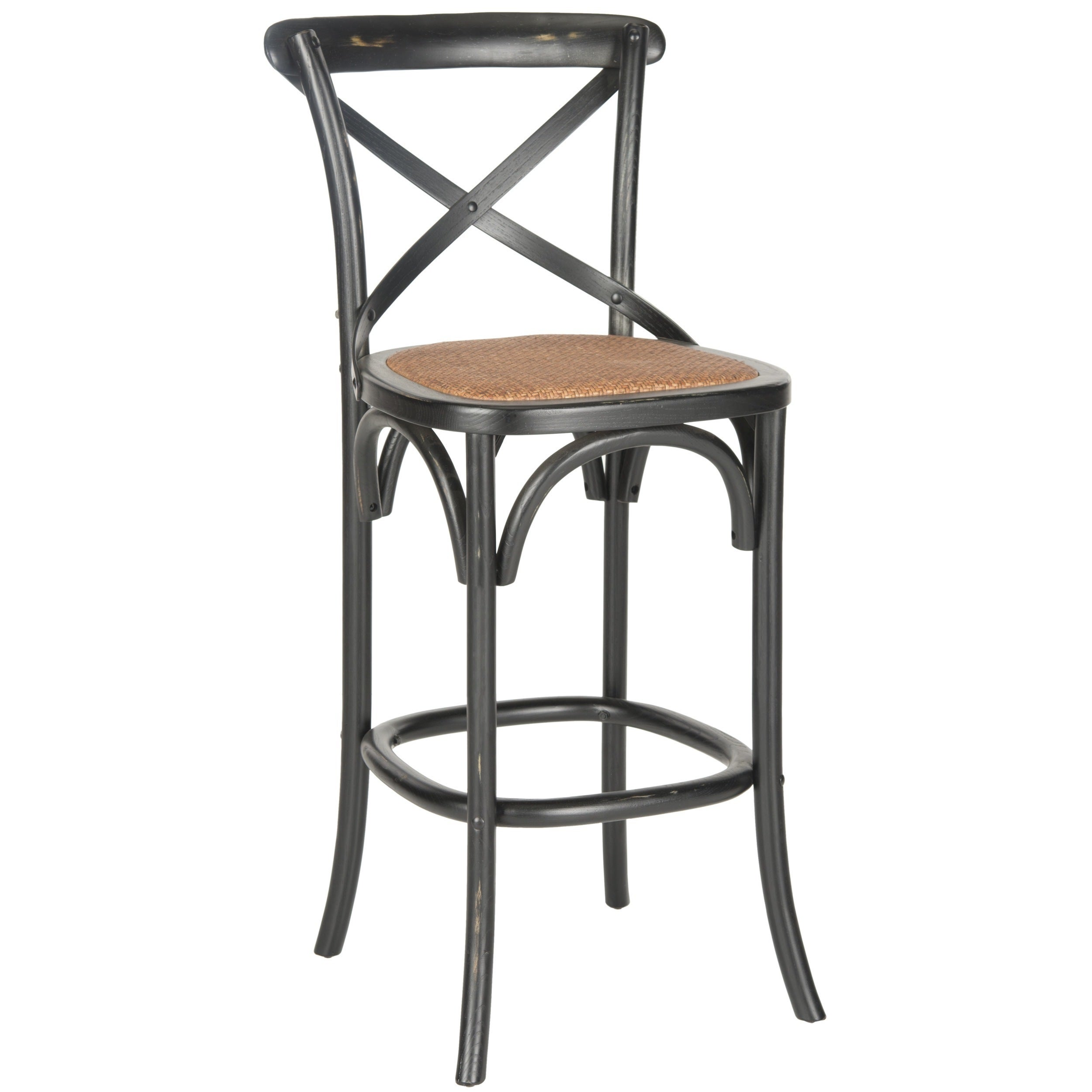 Safavieh Franklin Hickory Oak 30.7-inch Bar Stool (As Is ...