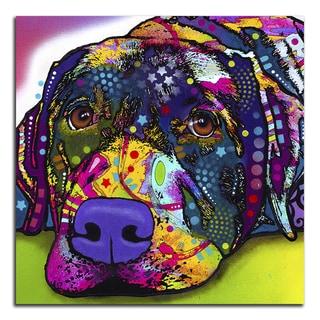 Colorful Labrador Metal Printed on Metal Wall Decor